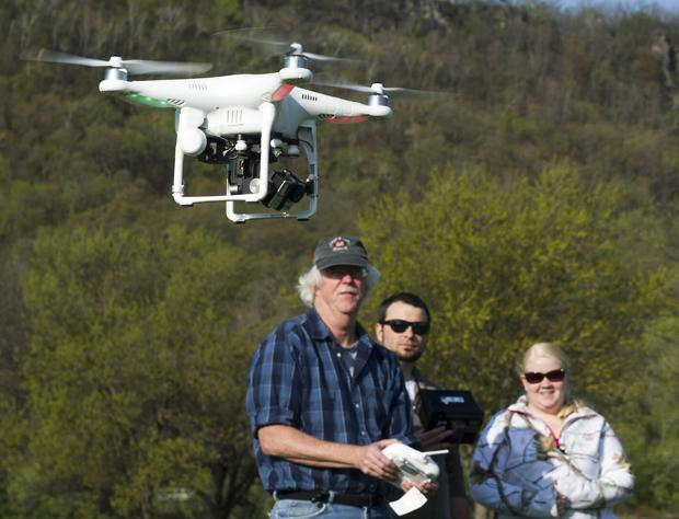 Taking to the (unmanned) sky: WSU journalism department invests in drones