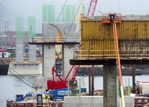 Photos: Interstate Bridge Construction