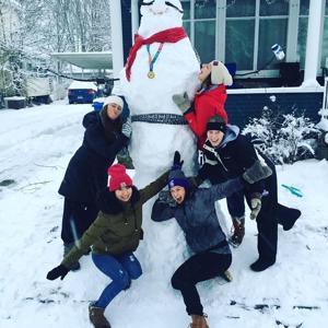 Photos: Winona Snow Sculptures