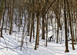 In Focus: Snow Bomb Fat Tire Race