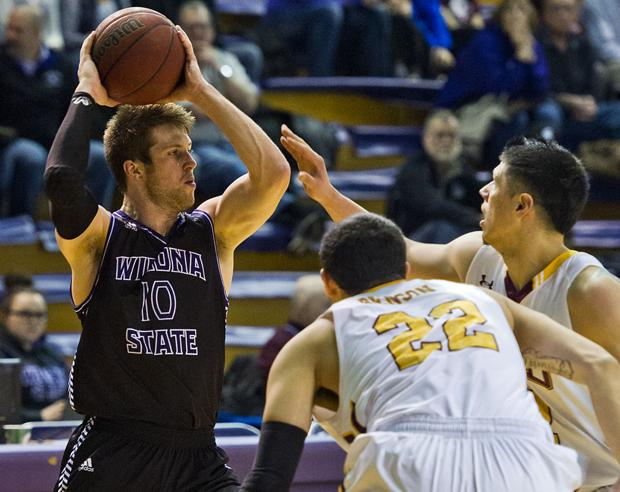Photos: Winona State Men's Basketball 2015-16