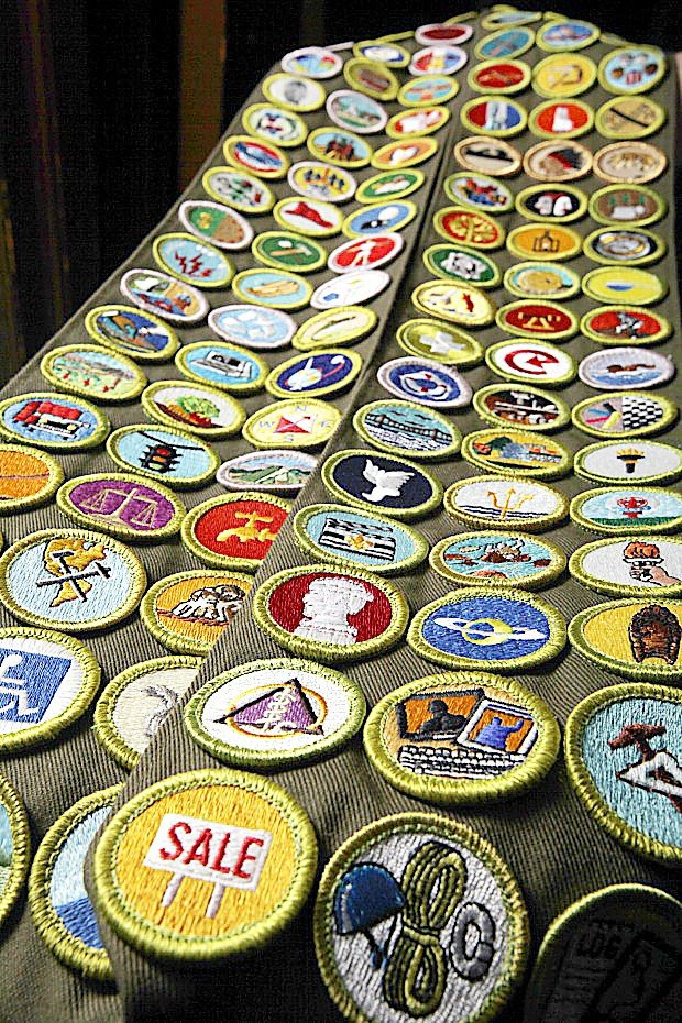 Everything You Ever Wanted to Know About Merit Badge Sashes |