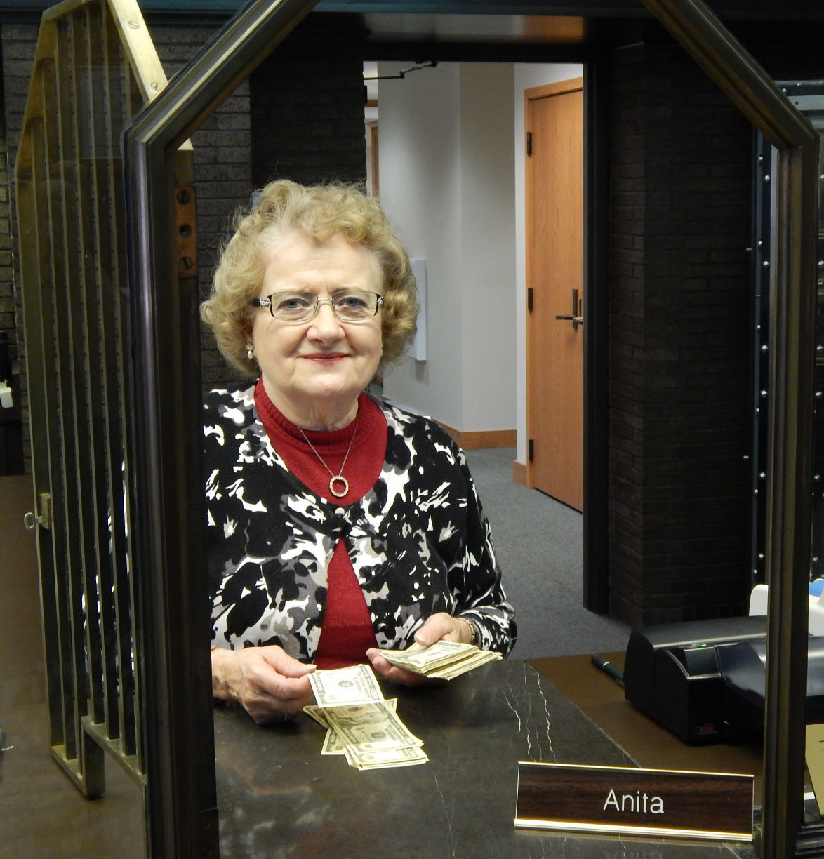 bank 159 w james st weisensel will be celebrating her 50th year at