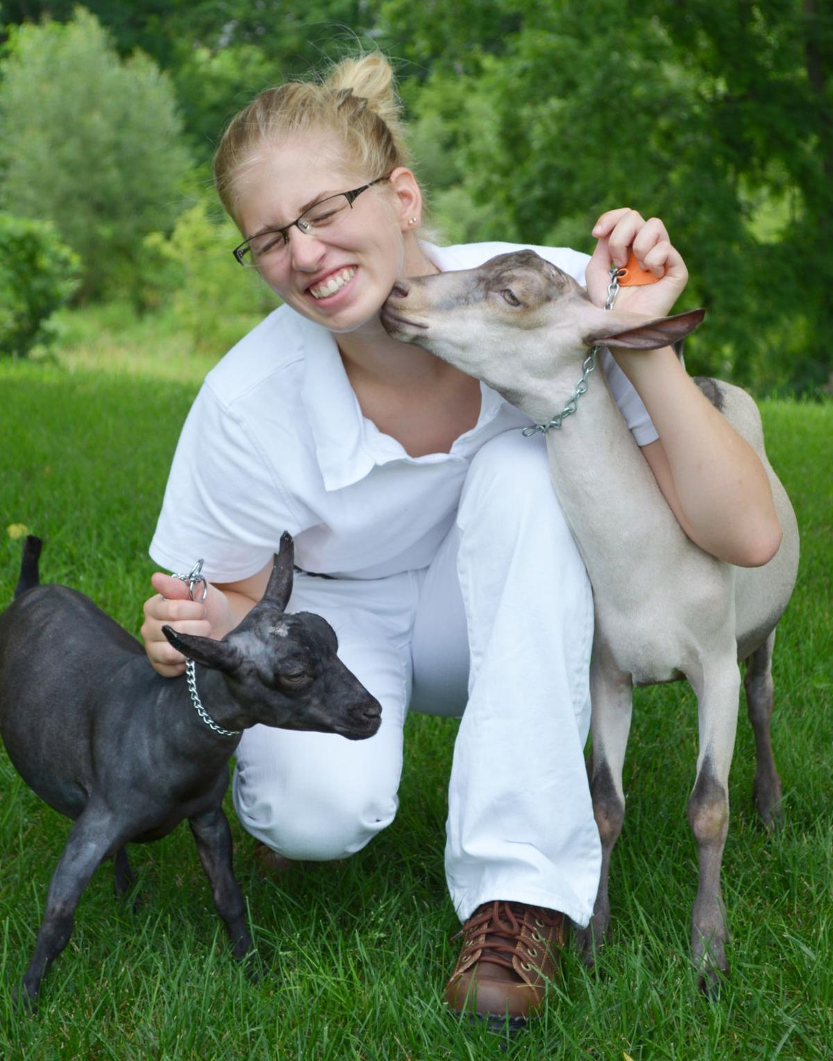 a o w story raising goats is fuel behind c f s rachael leystra s a o w story raising goats is fuel behind c f s rachael leystra s strong work ethic