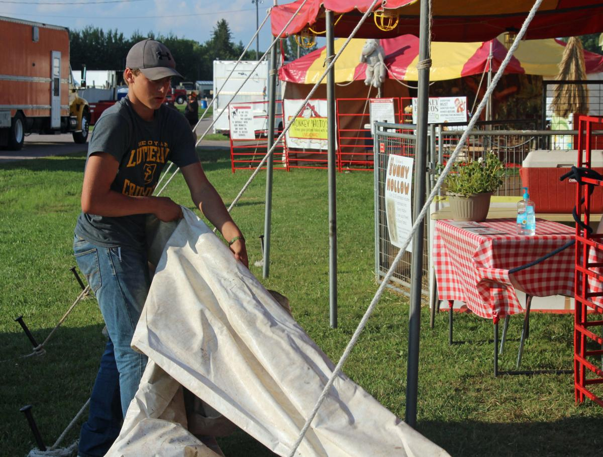 Used Cars Sheboygan County Guse from Sheboygan helps set up the petting zoo at the Juneau County ...