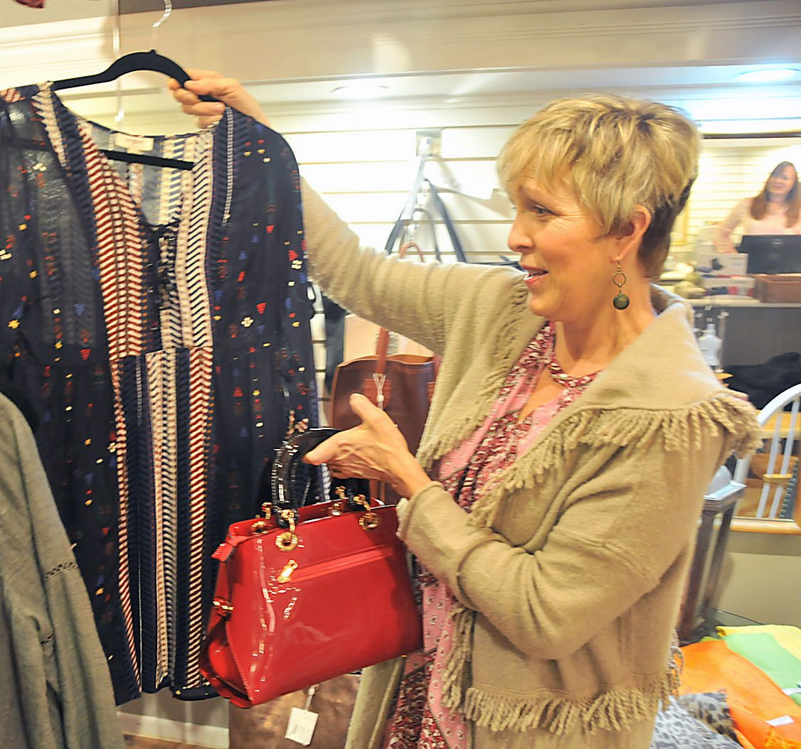 Women's clothing boutique at Lillian Verrall