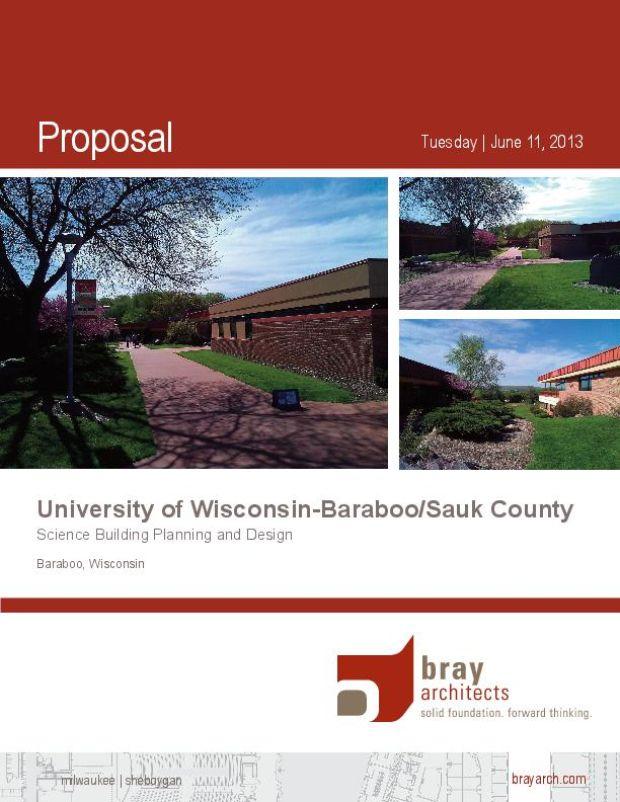 UW-BSC proposal, Bray Associates Architects