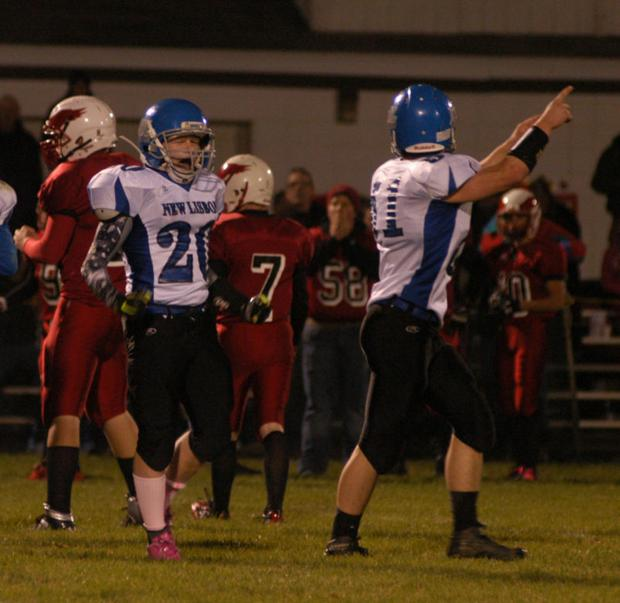 Slater Giebel Celebrate Fumble Recovery
