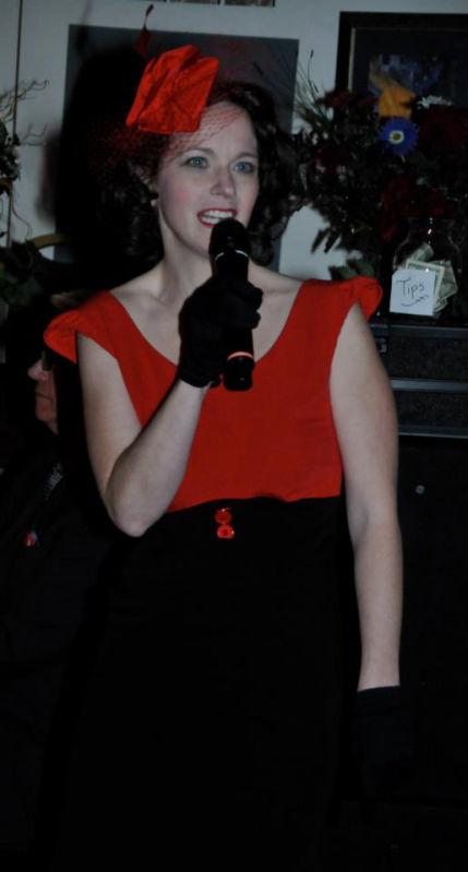 Bridget Doxtater at CABaret