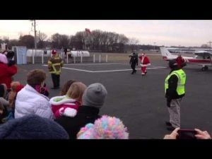 Santa Claus fly-in, Portage Airport