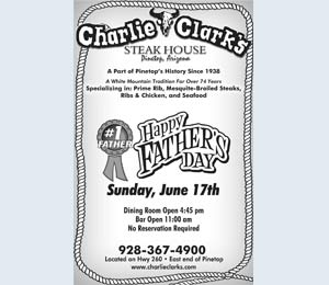 Charlie Clarks Steakouse - Happy Father's Day!