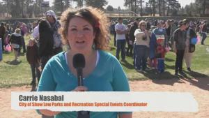 """VIDEO: Show Low's """"Hare Raising"""" Easter Candy Scramble"""