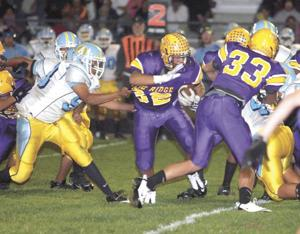 Jackets beat Falcons 47-0 in East opener