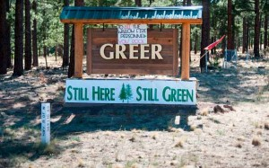 Wallow Fire 56% contained; Greer residents are home