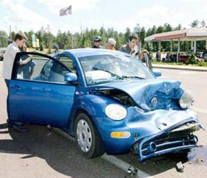 White Mountain Independent Car Accident
