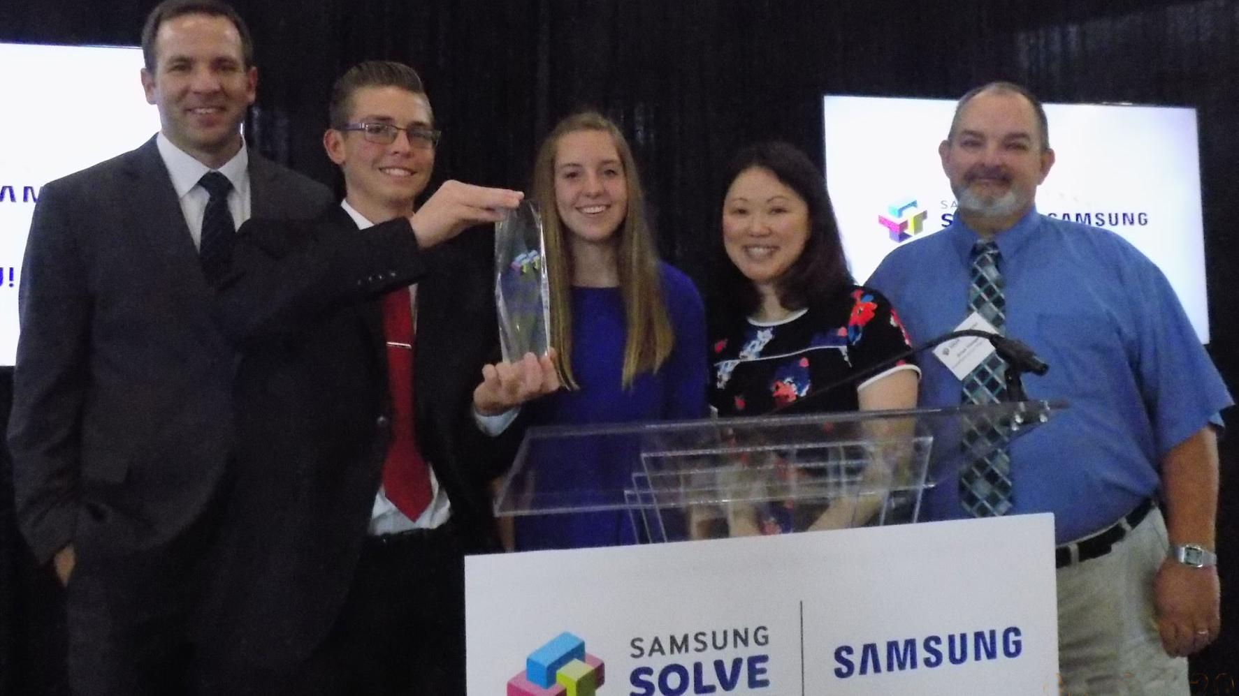 CHAMPS: Snowflake Jr. High wins Samsung Solve for Tomorrow contest