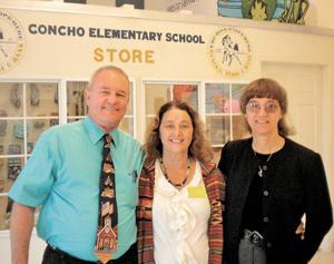 Donation helps 'Concho Bucks' program