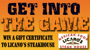 Win a Gift Certificate to Licano's Steakhouse!
