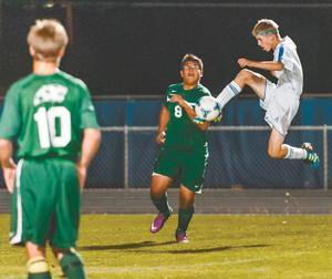 Boys soccer Snowflake edges Show Low 2-1