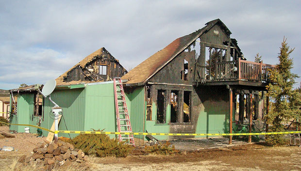 Fire destroys North Fork Ranch home