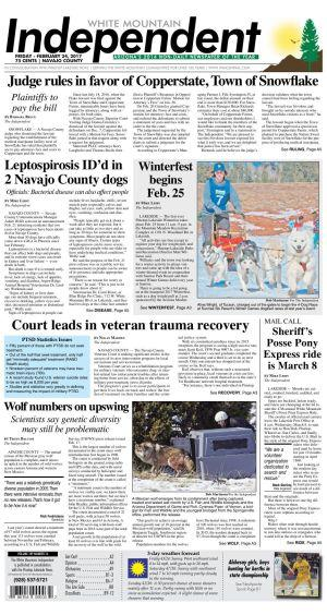 Leptospirosis Id 39 D In 2 Navajo County Dogs County News