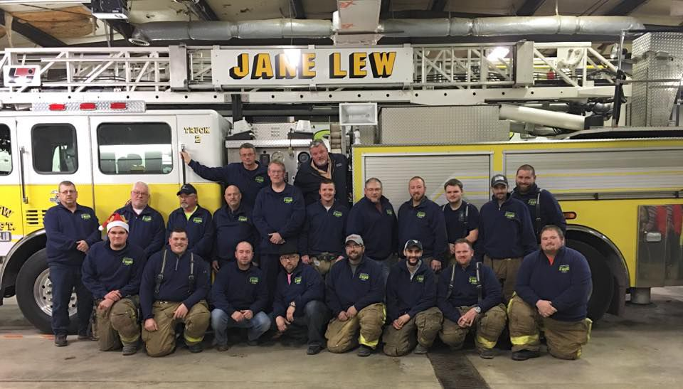 'It's definitely rewarding:' Jane Lew volunteer firefighters stay committed after 76 years