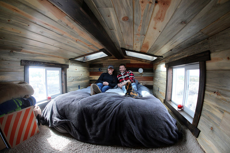 Couple in Colorado make big changes to live in a tiny house News
