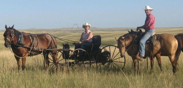 excitement growing for fall wagon train in sd yankton