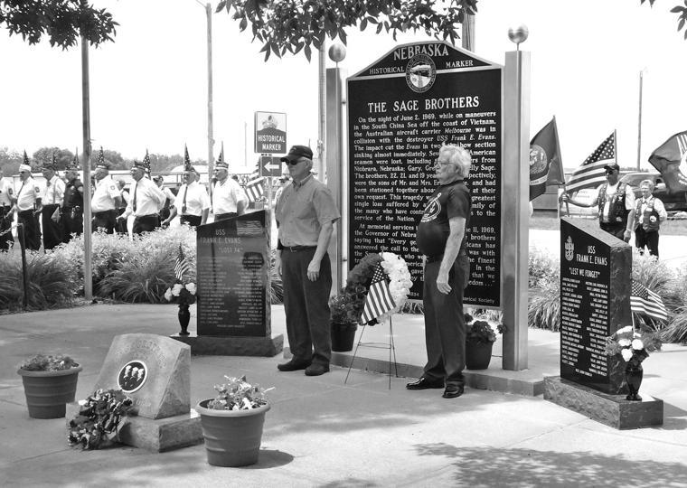 niobrara honors those lost in 1969 incident yankton