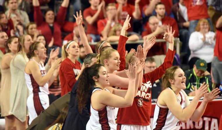 usd women march on to the final four yankton press