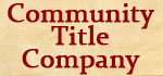 Community Title Company