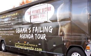 Obama Failing Agenda Tour