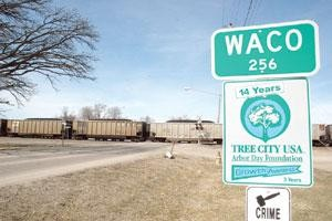 Train blockage remains issue in Waco