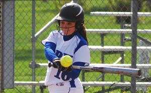 Panther right fielder Brittanie Shaw