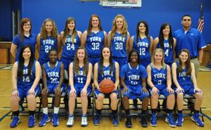 2012-13 Women's Basketball Team York College