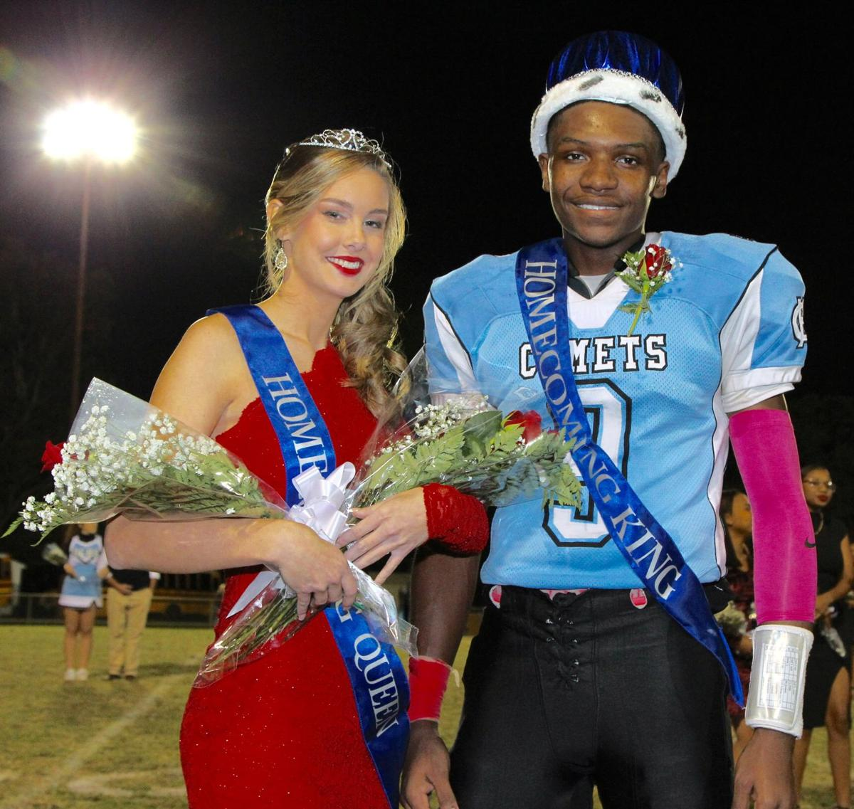 hchs crowns homecoming king queen local news yourgvcom