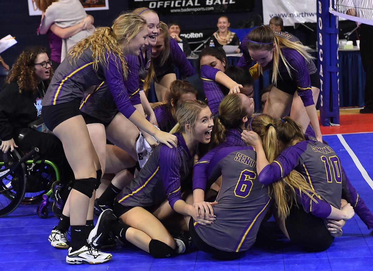 Day 3 Class Aa State Volleyball High School Volleyball
