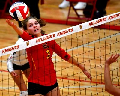 Hellgate vs. Flathead volleyball 01