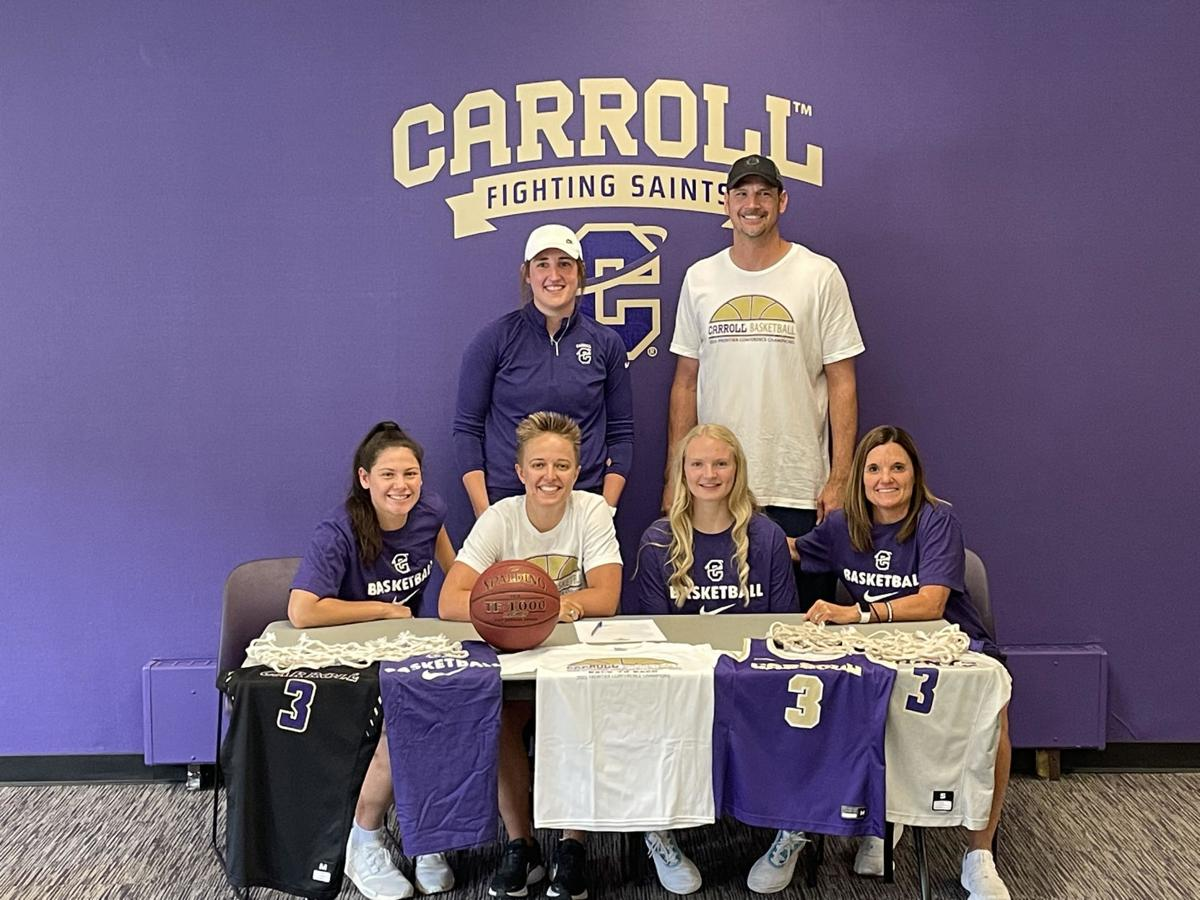 Sadie Filius signs with Carroll College 2021 2
