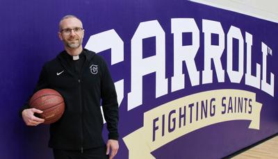 Holy Hoops: Carroll College chaplain Fr. Marc Lenneman keeps basketball close to his heart