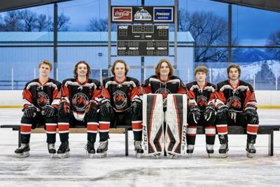 Missoula Bruins boys hockey seniors