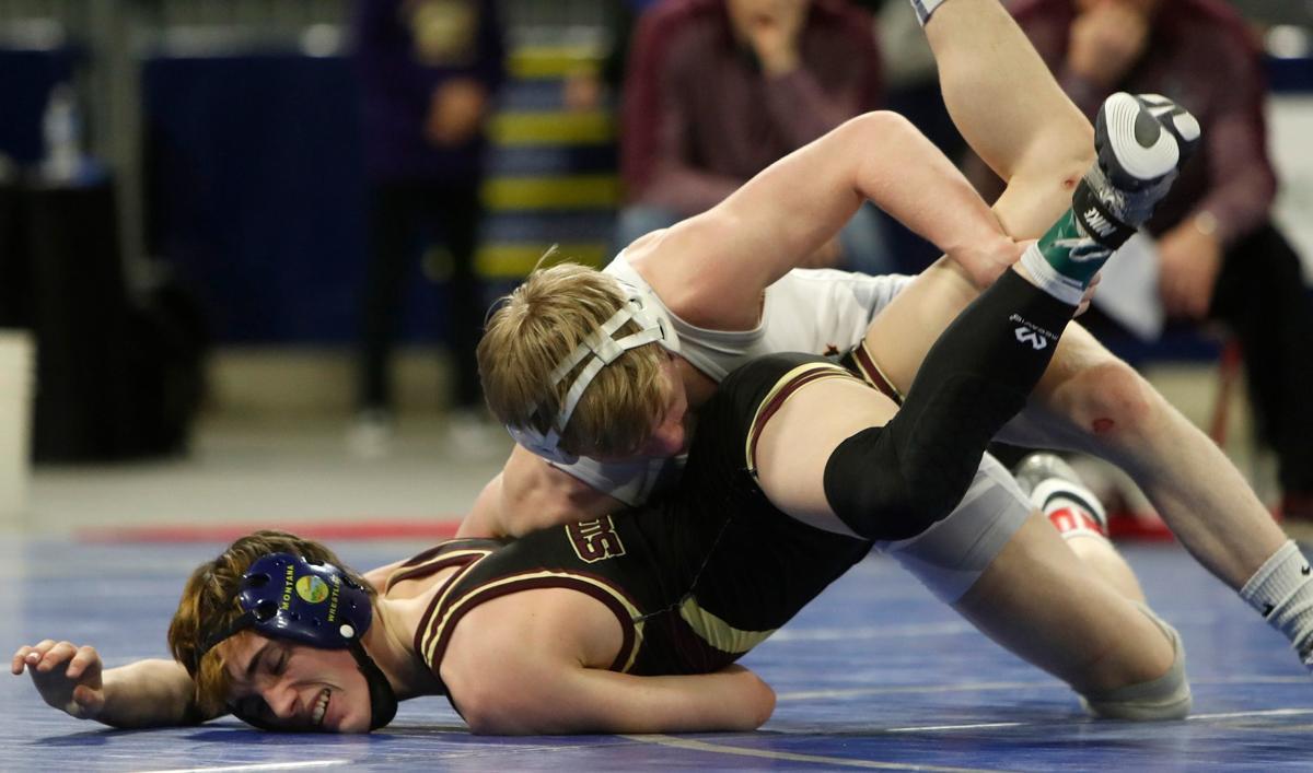 Championship round of state wrestling