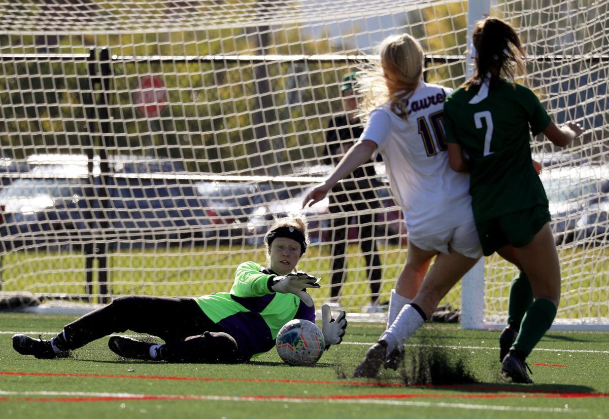 Billings Central vs. Laurel girls soccer
