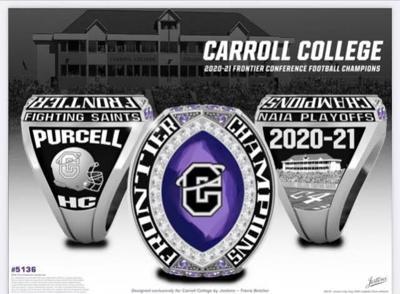 Carroll Football Championship Ring - 2021