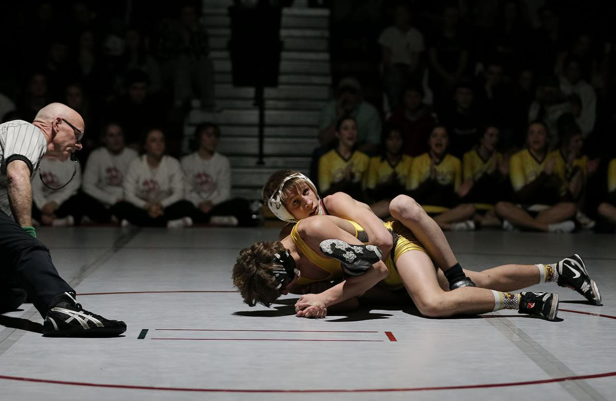 wrestling; HHS vs CHS