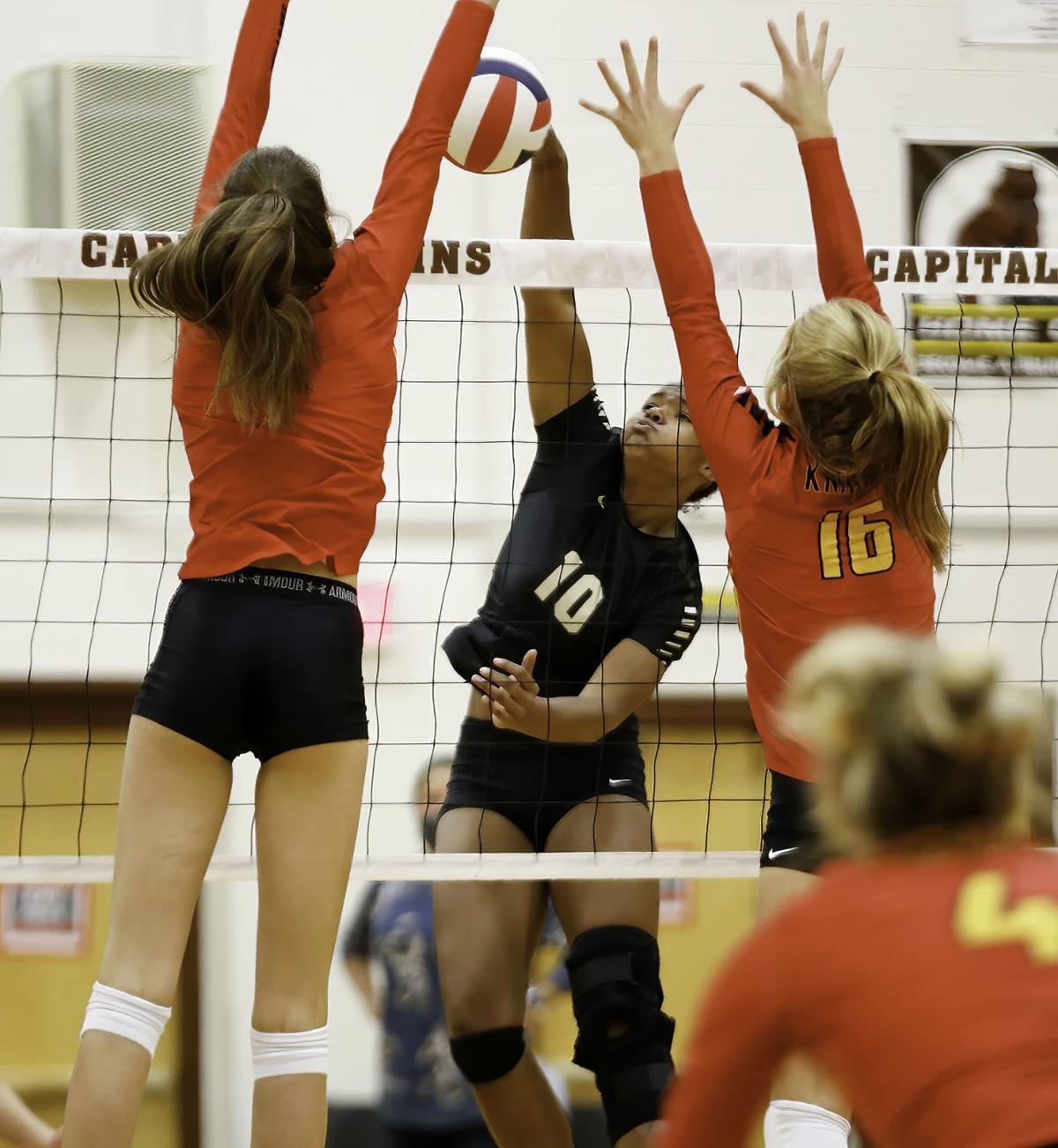 Capital High Volleyball vs Missoula Hellgate