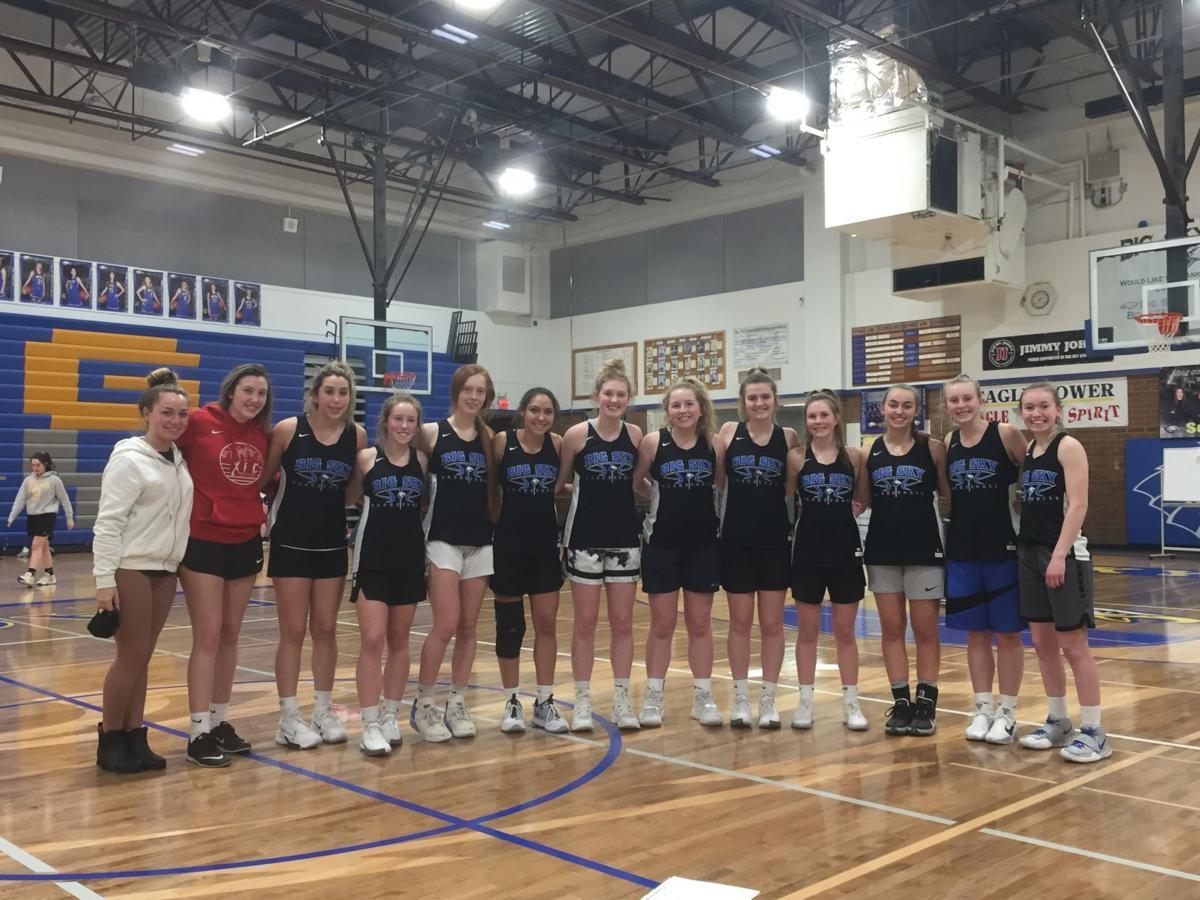 Big Sky girls basketball team 2021
