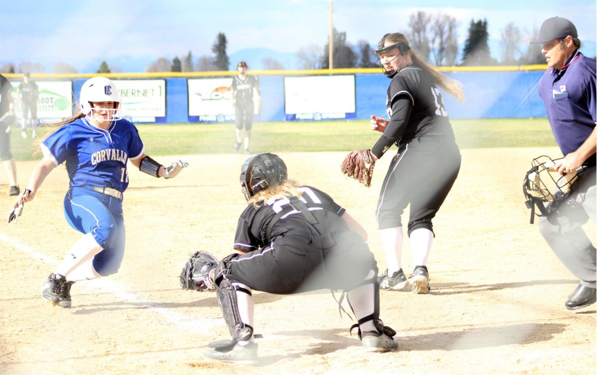 Out at the plate