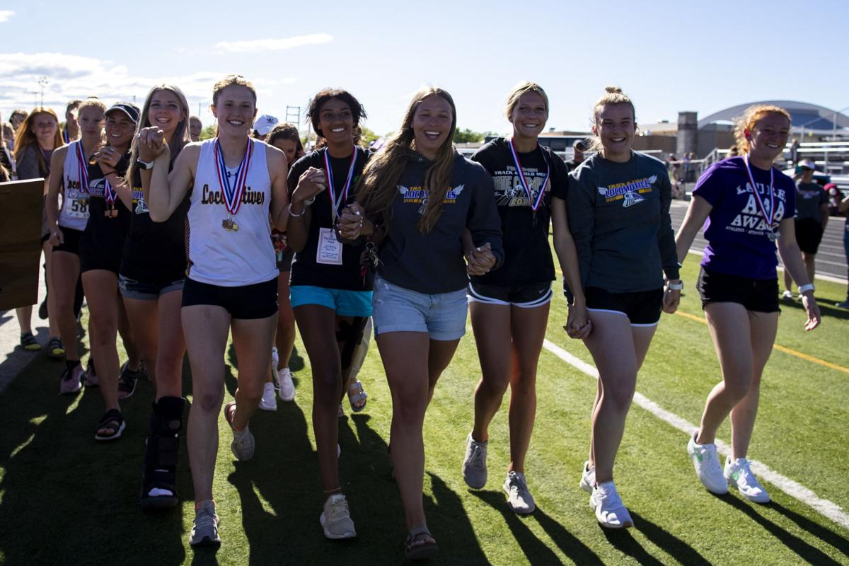 Laurel senior girls track and field