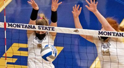 Montana State Bobcats volleyball (copy)